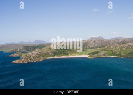 Gruinard Bay and Wester Ross Hills - Stock Image