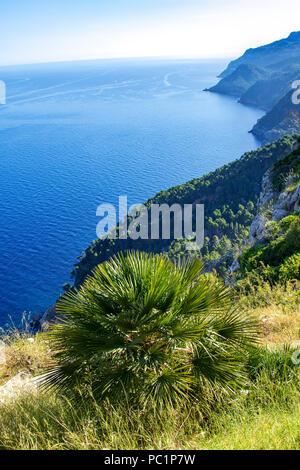 Coastline from the  Ricardo Roca mirador - Stock Image