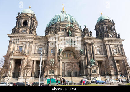 Germany, Berlin. Berlin Cathedral Church on Museum Island. Credit as: Wendy Kaveney / Jaynes Gallery / DanitaDelimont.com - Stock Image