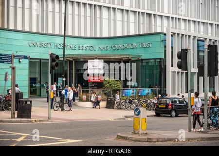 Bristol Royal Infirmary building, Bristol, UK - Stock Image