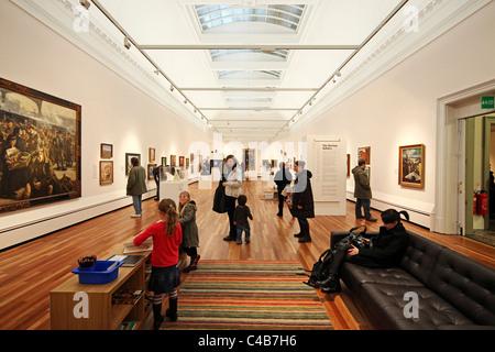 York Art Gallery in York, North Yorkshire, England is a public art gallery with a collection of paintings - Stock Image