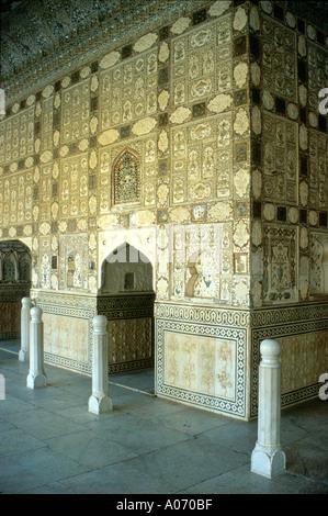 Moti Mahal Amber Fort, Rajasthan, India - Stock Image