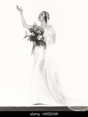 Here comes the bride - Stock Image