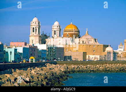 Spain Andalusia Cadiz cathedral - Stock Image