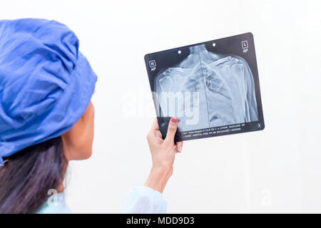 Medical clinic and hospital - Stock Image
