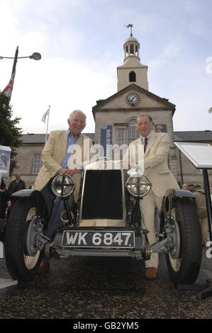 Memorial to mark 80 years of Ards TT - Stock Image
