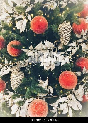 Christmas tree decoration - Stock Image
