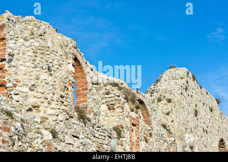 Part of the ruins at Greyfriars in Suffolk, UK - Stock Image