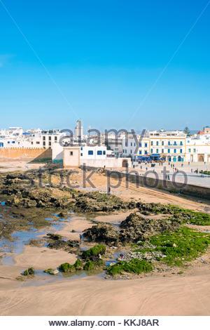 Morocco, Marrakesh-Safi (Marrakesh-Tensift-El Haouz) region, Essaouira. Medina old town, protected by 18th-century - Stock Image