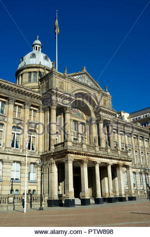 Council House in Victoria Square, city of Birmingham, West Midlands, UK. - Stock Image