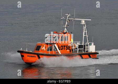 Pilotboat Nübbel - Stock Image