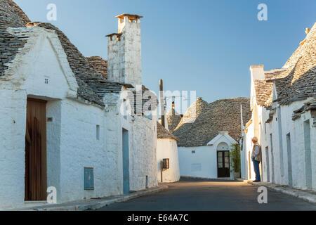 Trulli Houses, Alberobello, Apulia, Puglia, Italy - Stock Image