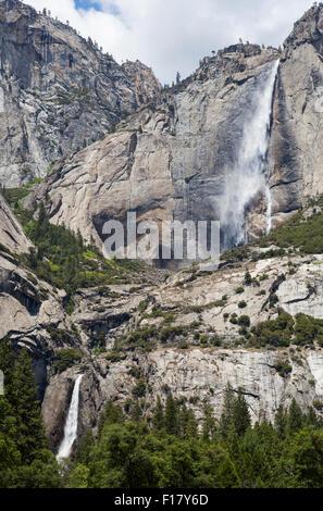 Yosemite Falls, Yosemite National Park, California, USA - Stock Image