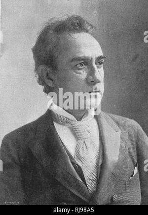 Edwin Booth American tragedian - Stock Image