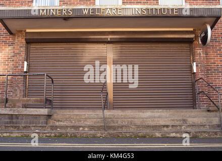 kirkintilloch Miners Welfare Institute - Stock Image