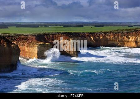Victoria's Great Ocean Road Australia - Stock Image