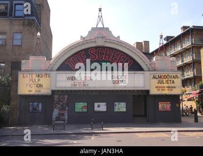The Screen on the Green Cinema Upper Street Islington London - Stock Image