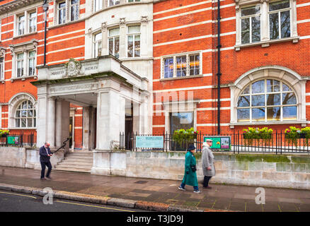 The Royal Horticultural Society Headquarters, Lindley Hall, London. - Stock Image