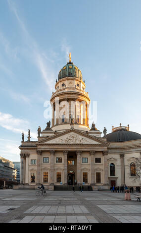 The Deutscher Dom at Gendarmenmarkt, Berlin - Stock Image