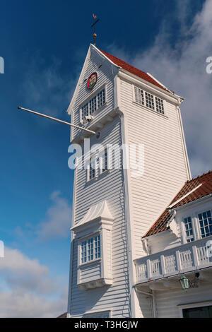 Skansen Fire Station Bergen Norway - Stock Image