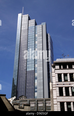 Heron Tower 110 Bishopsgate London - Stock Image