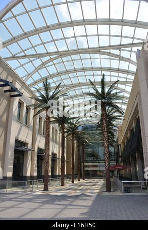 Galleria shopping mall Dallas, Texas, USA - Stock Image