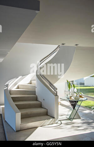 Staircase of a modern house - Stock Image