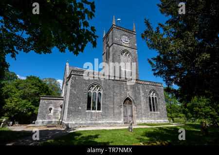St Nicholas Church Moreton Dorset - Stock Image