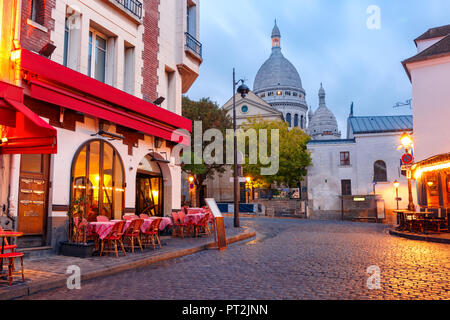 Montmartre in Paris, France - Stock Image