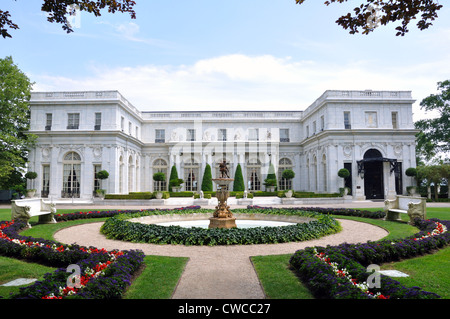 Rosecliff mansion, Newport, Rhode Island, USA - Stock Image