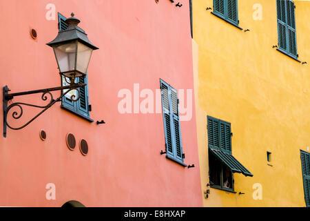 Buildings and architecture, Sestri Levante, Liguria, Italy - Stock Image