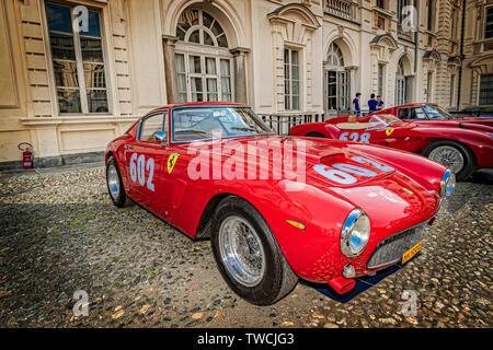 Ferrari 250 GTE - Stock Image