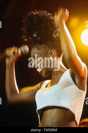 M PEOPLE English dance music group with Heather Small about 1994 - Stock Image