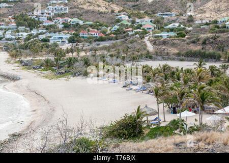Hotel Le Toiny Beach, St Barts - Stock Image