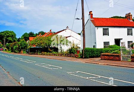 Crathorne, North Yorkshire, England - Stock Image