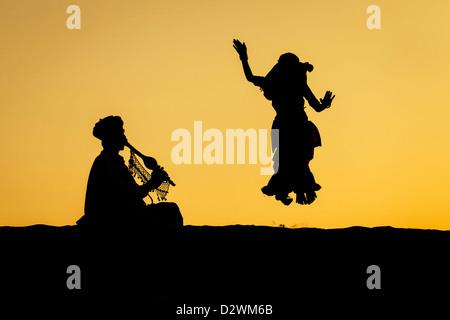 Desert Dance - Stock Image