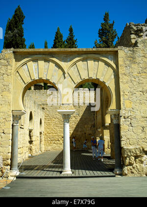 The basilica at Azahara - Stock Image