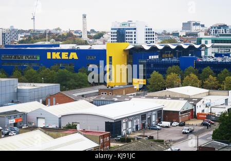 IKEA in Southampton, UK. - Stock Image