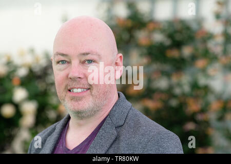 Hay Festival, Hay on Wye, Powys, Wales, UK - Thursday 30th May 2019 - Author John Boyne at the Hay Festival to talk about his latest book My Brother's Name is Jessica. Photo Steven May / Alamy Live News - Stock Image