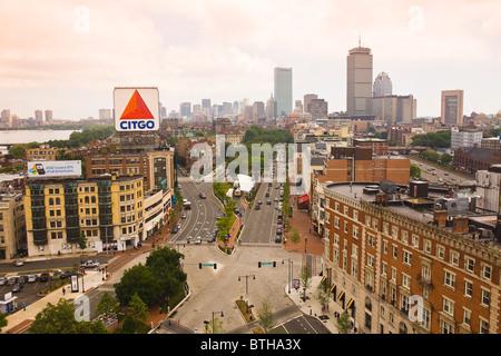 Kenmore Square Boston, Massachusetts - Stock Image