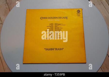 Chess Records Golden Decade compilation album - Stock Image