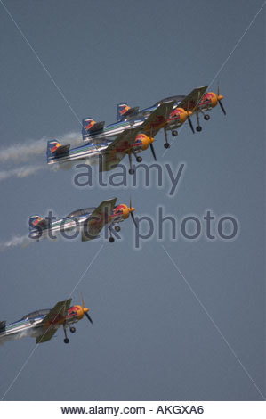 Rivolto Italia Air show 2005 - Stock Image