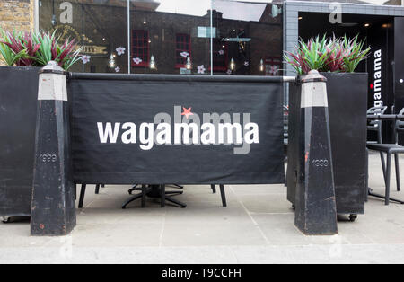 Wagamama Clink Street, Clink Street, London, SE1, UK - Stock Image