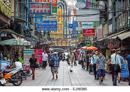 Bangkok : Chinatown - Thailand - Stock Image