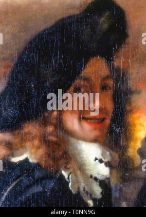 Johannes Vermeer (1632-1675), self portrait, 1656 - Stock Image