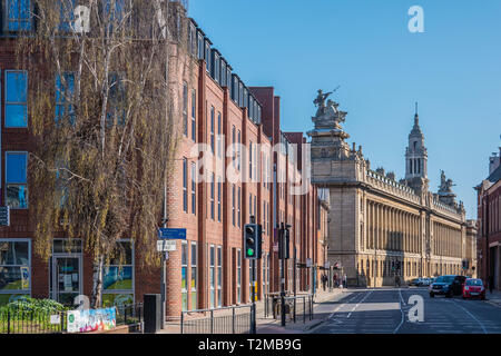 Alfred Gelder Street,The Guildhall,Kingston upon Hull,England - Stock Image