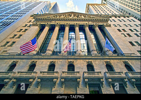 New York Stock Exchange - Stock Image