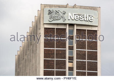Nestle Tower, Croydon - Stock Image