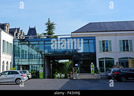 SGV, Syndicat Général des Vignerons de la Champagne building , Champagne avenue, Epernay, Marne, Champagne-Ardennes, France - Stock Image