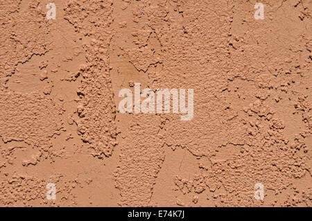 Stucco wall closeup - Stock Image